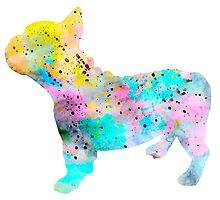 French Bulldog 4 by Watercolorsart