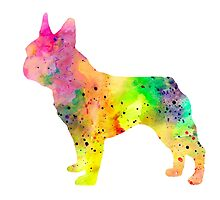 French Bulldog 6 by Watercolorsart