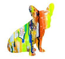French Bulldog 8 by Watercolorsart