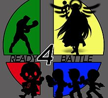NEW COMERS READY 4 BATTLE by Team-AGP2014