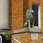 The Happy Green Lion by WildestArt