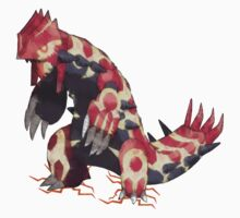 Only Primal Groudon (Pokemon Omega Ruby)  by Kiuuby