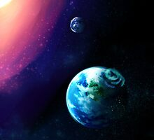 Planet Earth by nezala