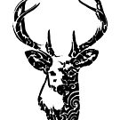 Tribal Deer by thyearlofgrey