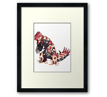 Only Primal Groudon (Pokemon Omega Ruby) Framed Print