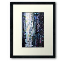 Spain Series 06 Barcelona Framed Print