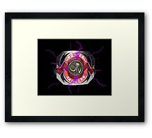 It's Morphin Time - MASTODON! Framed Print