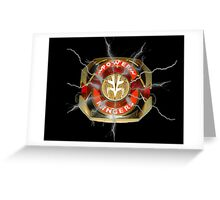 It's Morphin Time - TIGERZORD! Greeting Card