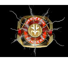 It's Morphin Time - TIGERZORD! Photographic Print