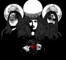 Triple Moon by Kayleigh Brookes