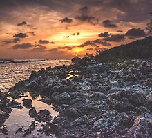 Distant Sun on a Distant Shore by solnoirstudios