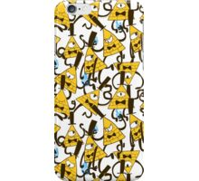 Bill Cipher pattern - plain iPhone Case/Skin