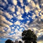 Blue Sky and Clouds Day by KellyHeaton