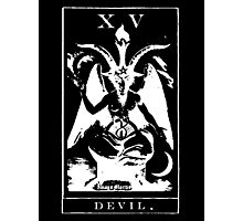 Devil Tarot XV Photographic Print