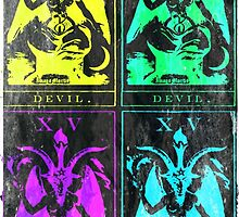 Pop Art Devil Tarot by Imago-Mortis