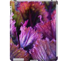 Ornamental Cabbage Rainbow iPad Case/Skin