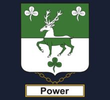 Power Coat of Arms (English) Kids Clothes