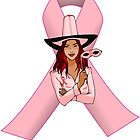 Breast Cancer Pink Ribbon Awareness by Alan Craker
