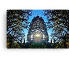 A Real Fuckin' Christmas Tree Canvas Print