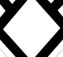 Owl Cave Symbol Sticker