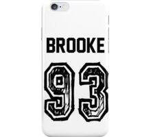 Brooke'93 iPhone Case/Skin