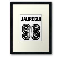 Jauregui'96 Framed Print