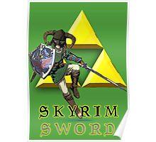 Skyrim Sword Poster