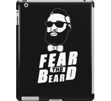 JAMES HARDEN FEAR THE BEARD TShirt HOUSTON Basketball OKC Oklahoma City Rockets iPad Case/Skin