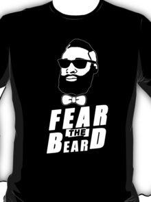 JAMES HARDEN FEAR THE BEARD TShirt HOUSTON Basketball OKC Oklahoma City Rockets T-Shirt