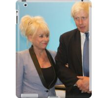 Barbara Windsor & Boris Johnson iPad Case/Skin