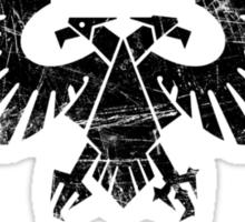 Warhammer 40k Aquila symbol (black) Sticker