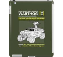 Warthog Service and Repair Manual iPad Case/Skin