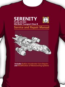Shiny Service and Repair Manual T-Shirt