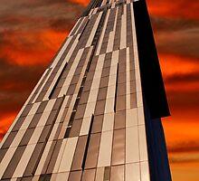 Beetham tower sunset by waylander99uk