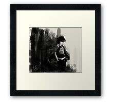 I am not like the other one, I have no place Framed Print