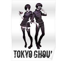 Anime: TOKYO GHOUL - Kaneki & Touka Poster