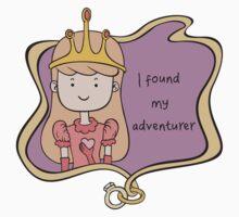I Found My Adventurer - Princess Adventure Time Kids Clothes