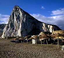 Gibraltar from La Linea by Dennis Melling