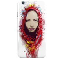 Rajastan portrait iPhone Case/Skin
