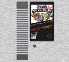Nes Cartridge: Super Smash Bros by Kiuuby