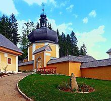 The Kalvarienberg church of Schenkenfelden I | architectural photography by Patrick Jobst