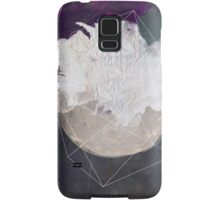 Abstract white volcano Samsung Galaxy Case/Skin