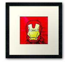 Stark Impression Framed Print
