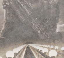 Enter The Metro - Fan Poster Sticker