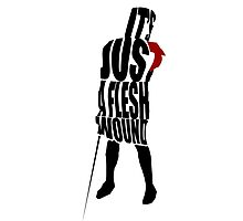 Flesh Wound Photographic Print
