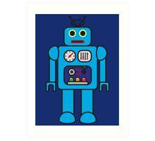 I AM ROBOT Art Print