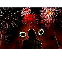 Fire Work Photographic Print