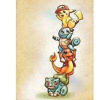 Pokemon Red Photographic Print