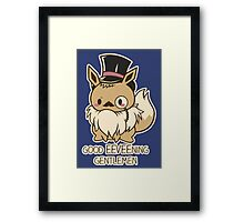 Good EEVEEning Framed Print
