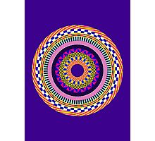 Funky Mandala Photographic Print